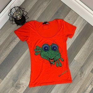 Love Moschino Frog Tee